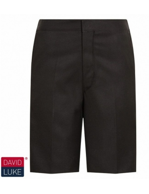 David Luke DL947 Bermuda Junior Boys Short Black