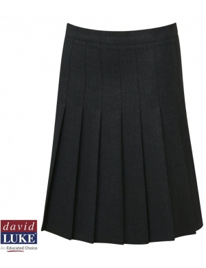 David Luke DL972 Senior Eco-Skirt with Waist Adjuster Black