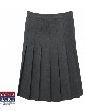 David Luke DL972 Senior Eco-Skirt with Waist Adjuster Grey