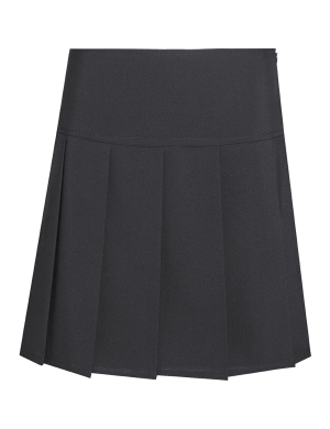 David Luke DL976 Senior Eco-Skirt Black