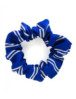 Royal & White Scrunchie 1pk