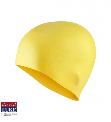 David Luke Senior Silicone Cap DL1000- Yellow