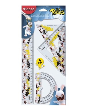 Rabbids Drafting Set 4pk