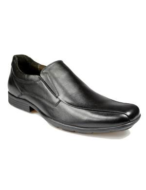 Durham Leather Slip On Senior Shoe