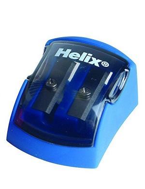 Ergo Soft 2 Hole Sharpener Blue