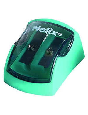 Ergo Soft 2 Hole Sharpener Green