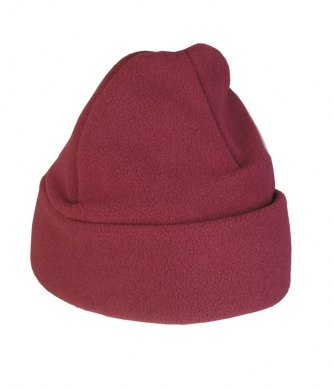 Fleece Hat Maroon