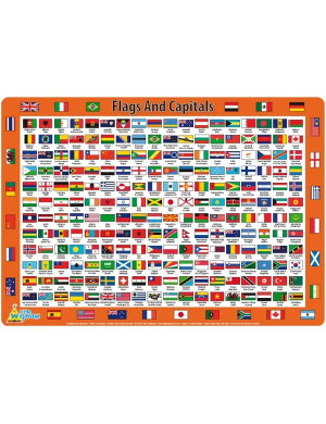 Flags and Capitals Placemat