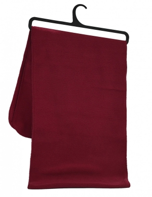 Fleece Scarf Maroon