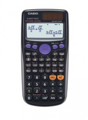 Casio Scientific Calculator FX-85GT PLUS Black