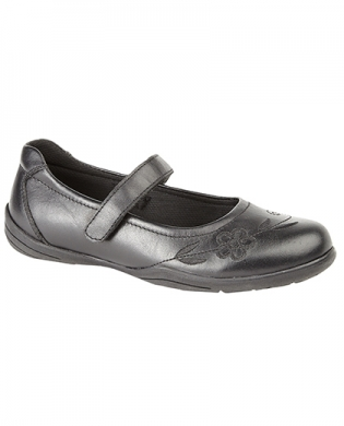 Just Good G774A  Leather Velcro Junior Shoe  (Clearance)