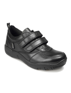 Giles Leather Velcro Junior Shoe (Clearance)