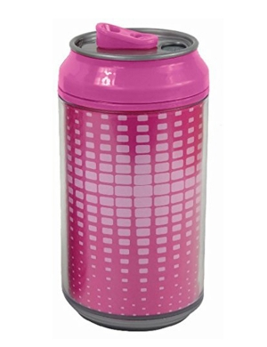 Cool Gear Girls Can 12oz Deep Pink