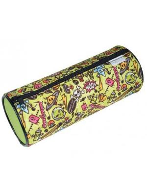 Graffiti Cylinder Pencil Case