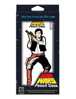 Star Wars™ Retro Pencil Case - Hans Solo