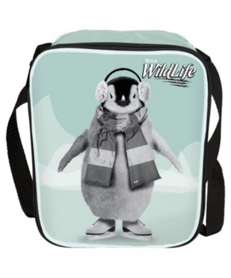 It's a Wildlife Penguin Lunch Bag