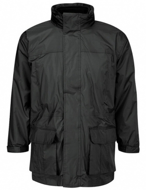 3-in-1 Coat Black - 100% Waterproof