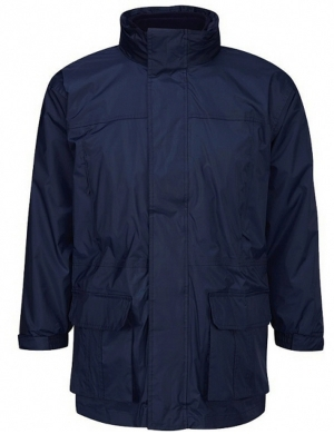 3-in-1 Coat Navy - 100% Waterproof