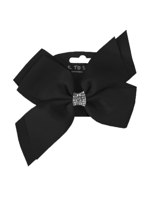 Jo Jo Hair Bow Black
