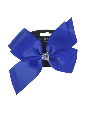 Jo Jo Hair Bow Royal