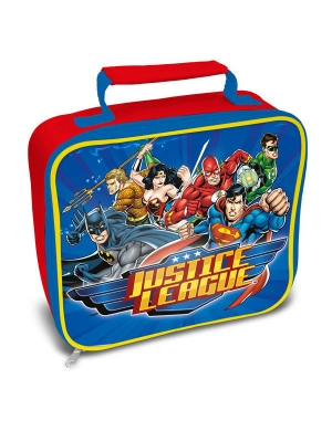Justice League Rectangle Lunch Bag