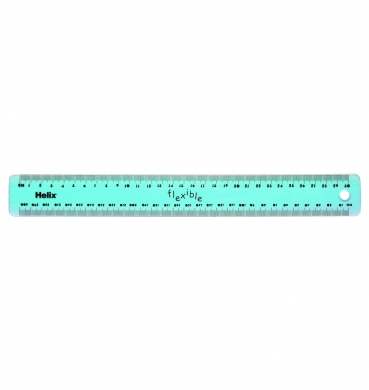 Tinted Flexi 30cm / 12 inch Ruler