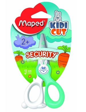 Kidicut Safety Scissors 12cm Mint