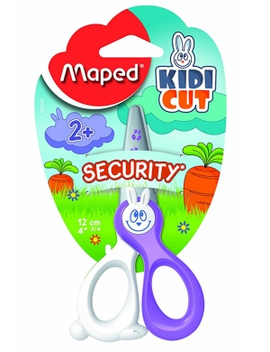 Kidicut Safety Scissors 12cm Lilac