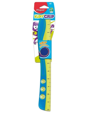Kidy'Grip Wave Ruler 30cm Blue/Green