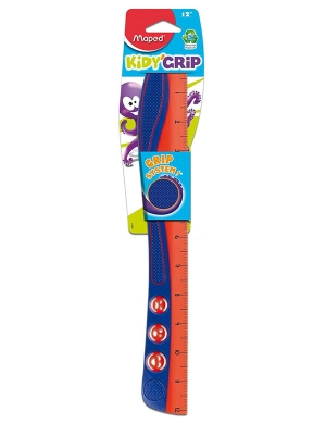 Kidy'Grip Wave Ruler 30cm Navy/Red