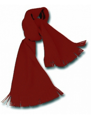Knitted Scarf Maroon