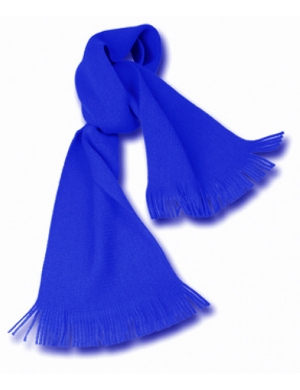 Knitted Scarf Royal