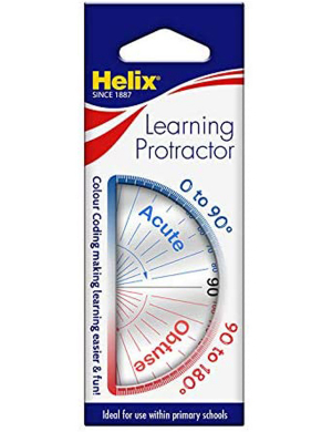 Helix Learning Protractor (Age 4 )