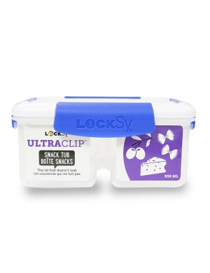 Locksy Ultraclip Large Split Snack Tub 950ml