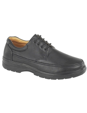 Scimitar M824A PU Lace Up Senior Shoe