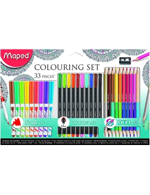 Maped Colouring Set 33 pieces