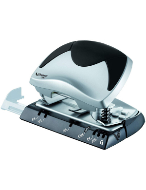 Ergologic Hole Punch 15-20 Sheets Black