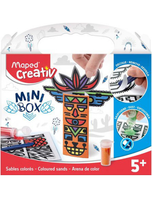 Maped Creativ Mini Box - Coloured Sands