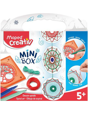 Maped Creativ Mini Box - Spiral Art