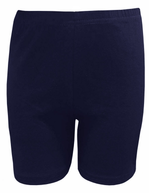 Cycle Shorts Cotton Lycra Navy
