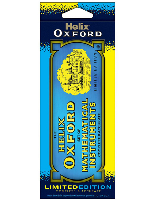 Oxford Clash Limited Edition Maths Set Blue/Yellow
