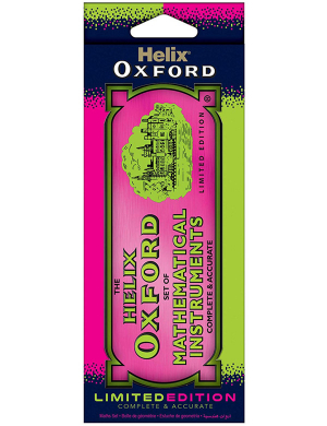 Oxford Clash Limited Edition Maths Set Pink/Green