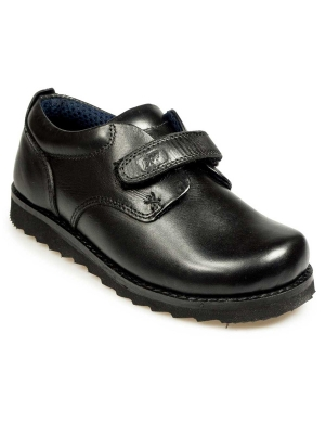 Ethan Leather Velcro Junior Shoe