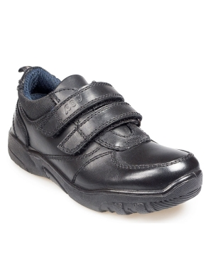Graham Leather Velcro Junior Shoes
