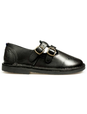 Marley Leather Strap-Up Junior