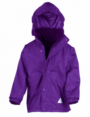 Reversible Jacket RS160 Purple - 100% Waterproof