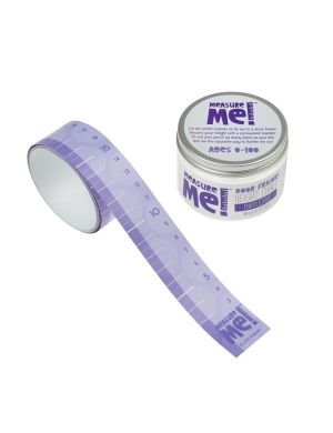 Measure Me! Purplicious Door Frame Height Chart