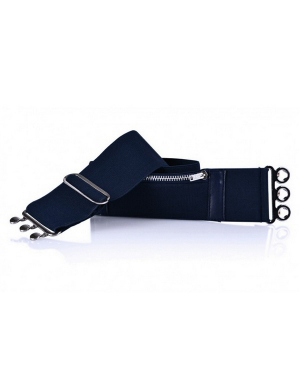 Purse Belt Stretch Navy