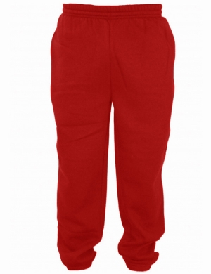 Woodbank Jog Trousers Dark Red