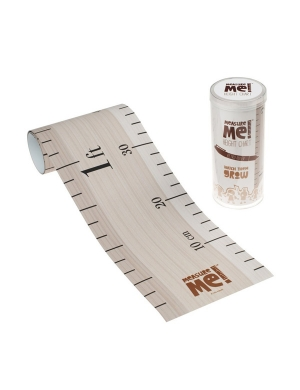 Measure Me! Retro Ruler Door Frame Wide Height Chart